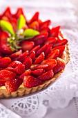 Erdbeertarte (Ausschnitt)