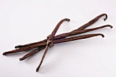 Vanilla pods, tied together