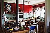 Küche auf der Farm von Sydneys Küchenstar Sean Moran, Bilpin