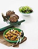 Greek-style mini spring lamb roasts