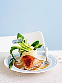 Chinese Chicken with Bok Choy