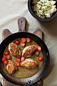 Chicken in potacchio