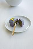Wagashi zori summer sandal (Japanese sweet)