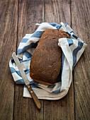 Freshly baked homemade sourdough bread