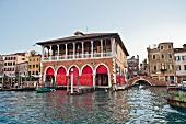 Rialto market hall, Venice, Italy