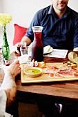 Fingerfood & Rotwein im Pablo Pablo Restaurant (Broadbeach, Australien)