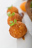 Potato croquettes with parsley