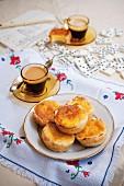 Pastel de nata (puff pastry cream tarts, Portugal)