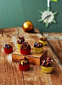 Vegan sage and cream truffle praline for Christmas