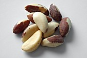 Shelled Brazil nuts