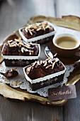 Schokoladen-Bailys-Terrine