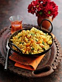 Biriyani mit Gemüse (Reisgericht, Mittlerer Osten)