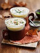 Autumnal chicken soup