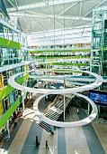 The Unilever building, Hamburg