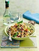 Quinoa-Pilaf mit Gemüse