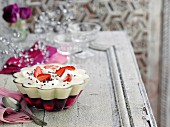 A festive sherry trifle