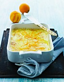 Apple and orange bake with cinnamon