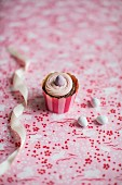 A Red Velvet cupcake for Easter