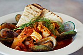 Cioppino (fish stew, California)