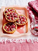 Grape frangipane tarts