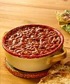 Oklahoma Baked Beans (Bohnengericht, USA)