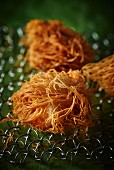 Scallops wrapped in kadayif