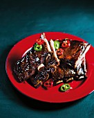 Sweet-and-sour balsamic spare ribs