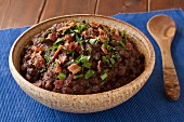 Drunken Beans (bean stew with beer, Mexico)