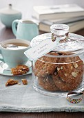 Anzac cookies and tea