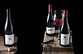 Three bottles of Spätburgunder: Salwey, Baden - Schmitts Kinder, Franken - Künstler, Rheingau