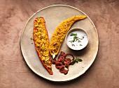 Mit Couscous gefüllte Spitzpaprika (vegetarisch)