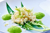 Celerisotto (celery risotto without rice, France)