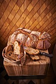 Crusty French country bread