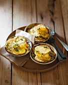Potato and pumpkin gratin
