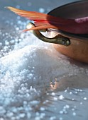 Fish and sea salt
