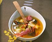 Classic bouillabaisse