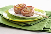 Bacon roulade