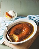 Malva pudding (apricot dessert, South Africa)