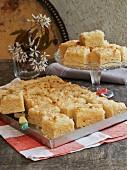 Coconut tray-bake cake