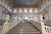 The Emperor's Staircase in the Göttweig abbey, Austria