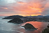 A beautiful view of San Sebastián, Spain