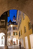 The beautiful old town on Merano invites you to explore
