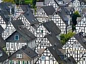 So viele Fachwerkhäuser - eine wahre Freude in Freudenberg, Nordrhein-Westfalen