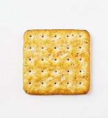 A cracker (seen from above)