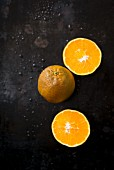 Chocolate oranges: an orange variety with a dark skin