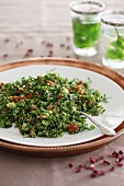 Tabbouleh with fresh peppermint
