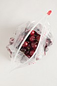 Cherries in a Ziploc bag