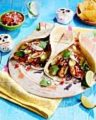 Tortillas für den Dia De Los Muertos (Mexiko)