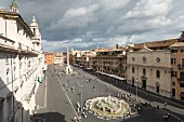 A wonderful view of Piazza Navona, Rome