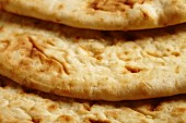 Commercially made naan bread (Indian)